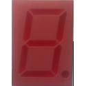"Display 7 Segmentos Rojos Ánodo Común 1,85"""