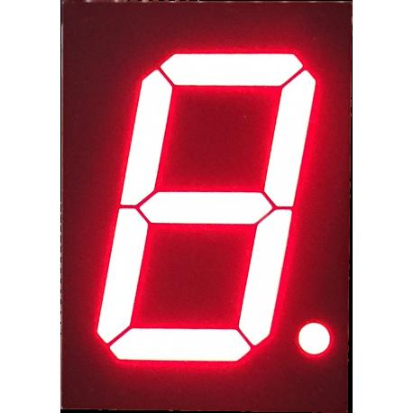 "Display 7 Segmentos Rojo Ánodo Común 0,56"""