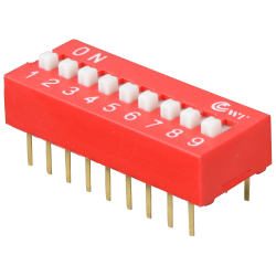 DIP Switch de 9 Contactos