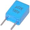 Condensador Poliester Pasante 220nF/100v