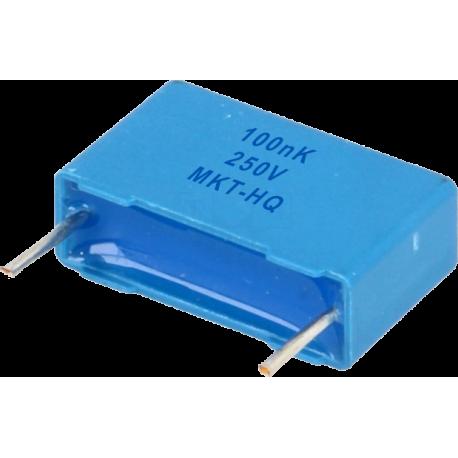 Condensador Poliester Pasante 100nF/250v