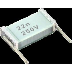 Condensador Poliester Metalizado 22nF/250v