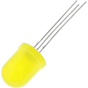 LED Amarillo 10mm.