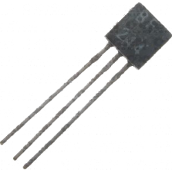 "Transistor MOSFET ""N"" BF-244A TO-92"