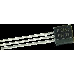 "Transistor MOSFET ""N"" BF-245C TO-92"