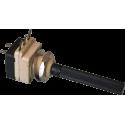 Potenciómetro Eje 6mm. de 10Kohm. con interruptor.