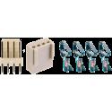 Juego Conector Molex KF2510 4 contactos