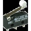 Microswitch CHERRY DB-5 de 1 Circuito 2 Contactos. Con rodillo.