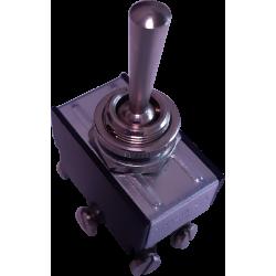 Conmutador Palanca CYMEM. 3 Posiciones 2 Circuitos
