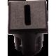 Mirilla-portaled letra I, 5mm., plástico.