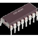 CD4040 - Contador binario con acarreo CMOS