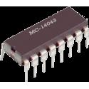 CD4043 - Cuádruple Latch R-S CMOS