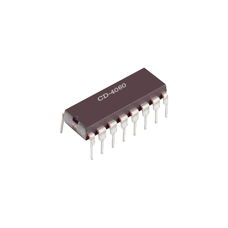 CD-4060 - Contador/Divisor con acarreo CMOS