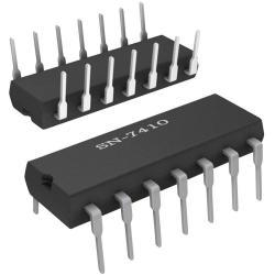 SN7410 - Triple Puerta NAND de 3 Entradas TTL