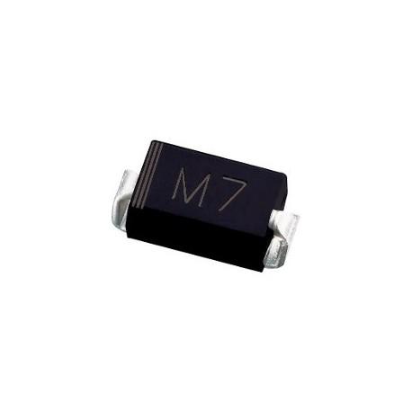 Diodo rectificador 1N-4007-SOD323