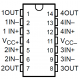 LM-348 - Amplificador Operacional Cuádruple