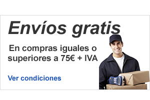 Compic envía gratis las compras iguales o superiores a 70€